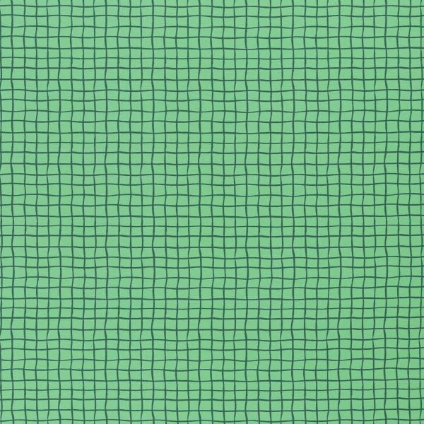 """Bomuldsjersey """"Veronika FS21"""" grøn ternet"""