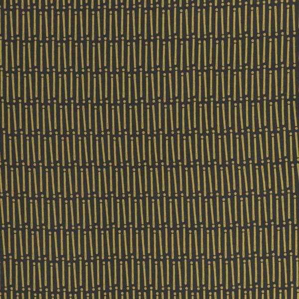 """Isoli """"Mini Forest"""" streger & prikker grå/gul"""