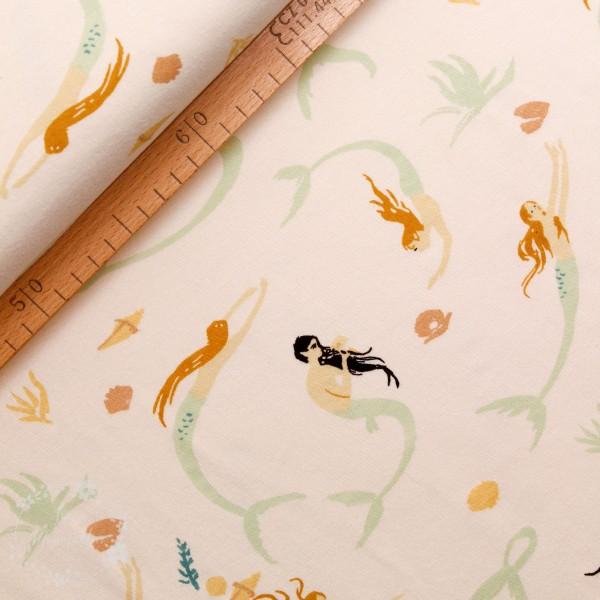 "BIO-Interlock-Bomuldsjersey ""Saltwater"" kewm02 fra Birch Fabrics"