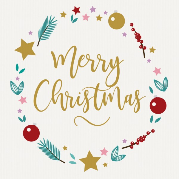 "Gavekort ""Merry Christmas"""