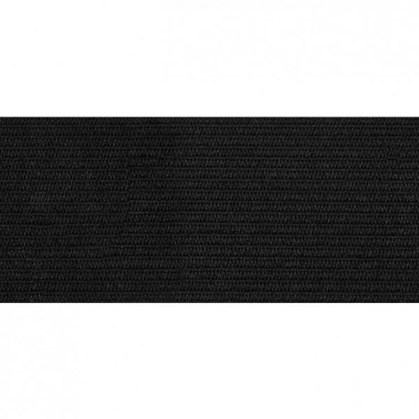Elastikbånd sort 40 mm