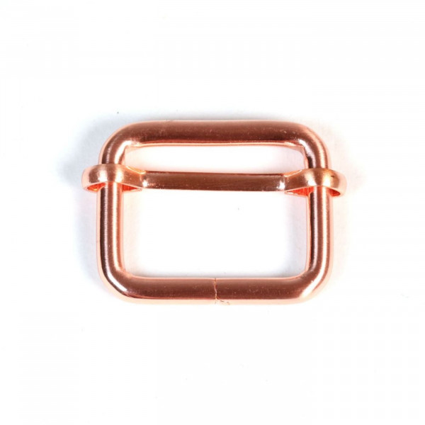 Metalspænde 25 mm kobber