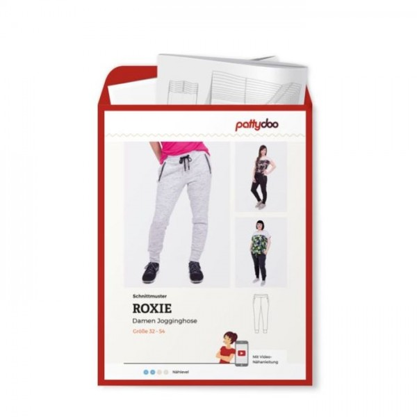 "Snitmønster Dame Jogging-Bukser ""Roxie"" by..."