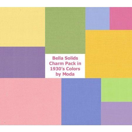"Charm Pack 5`` Square ""30s Colors"" fra moda"