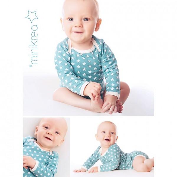 "MiniKrea Snitmønster 11411 ""Babybody"" str 50 - 98 (0 - 3 Years)"