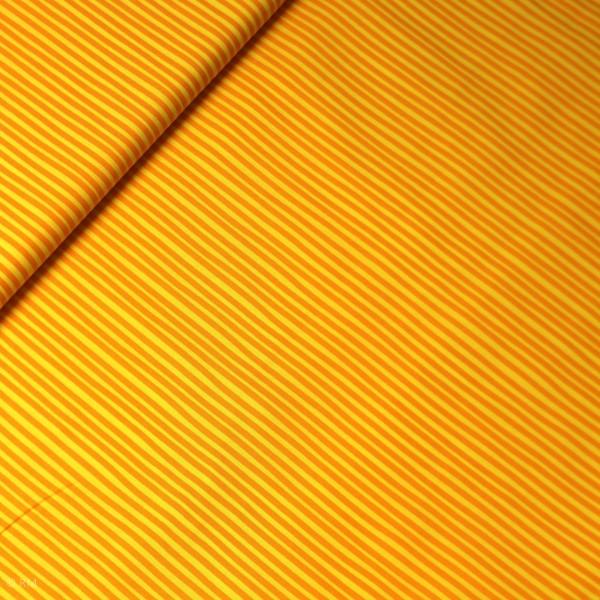"Bomuld ""Junge Linie"" striber gul-orange"