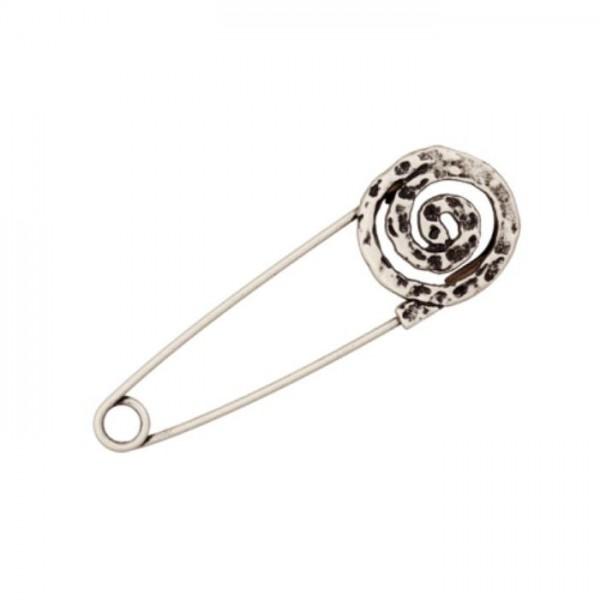Kiltnåle sølv 75 mm