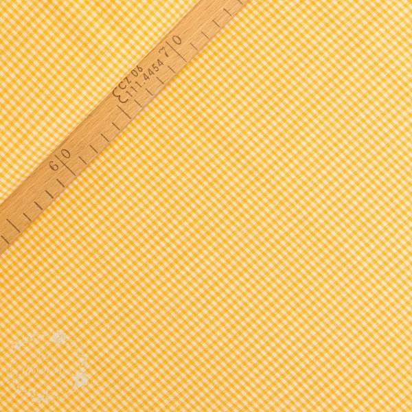 Bomuld ternet gul/hvid