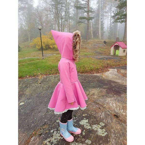 "Snitmønster til børn ""Fairytale Hoodie"" str 80 - 164"