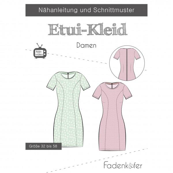 "Snitmønster Dame-Kjole ""Etui-Kleid"" str 32 - 58"