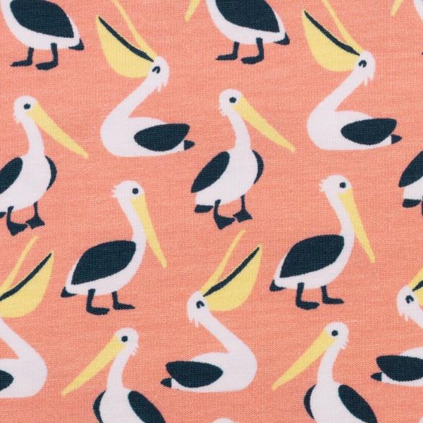 "Bomulds-Jersey kollektion ""Pelicans"" by Käselotti"