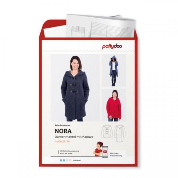 "Snitmønster Dame jakke ""Nora"" by pattydoo str 32 - 54"