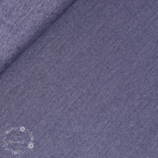 Denim-Jersey blå