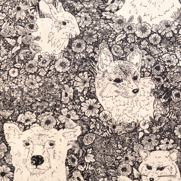 """Bomuld """"Tor 23869"""" fra Art Gallery Fabrics"""