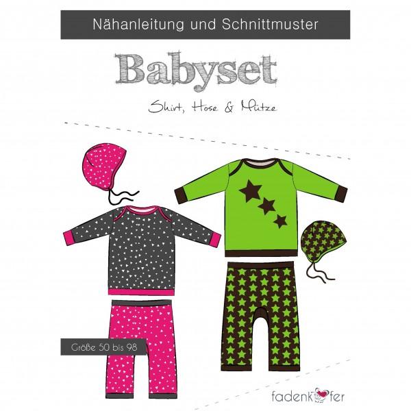 "Snitmønster ""Babyset"" str 50 - 98"
