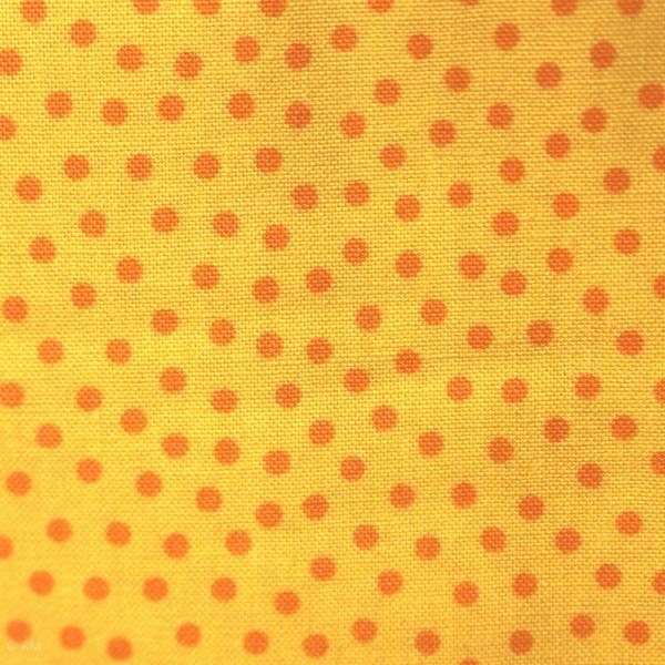 """Bomuld """"Junge Linie"""" gul med prikker"""