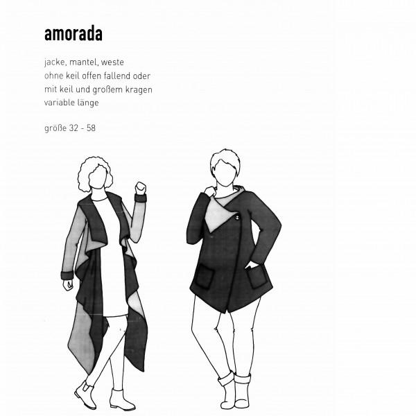 "Snitmønster Dame-Jakke ""Amorada"" str 32 - 58"
