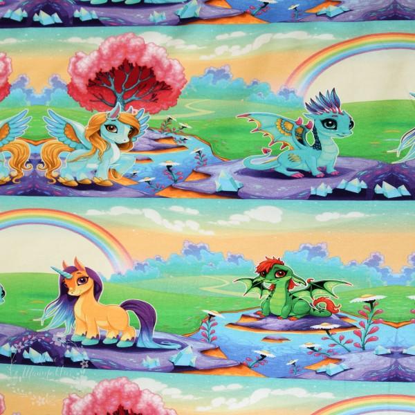 """Bomuldsjersey """"Dream, little Pony"""""""