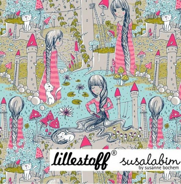 "BIO-Bomuldsjersey ""Rapunzel"" by Susalabim (nyt design)"