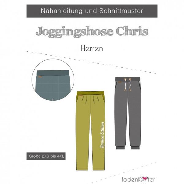 "Snitmønster Joggingbukser ""Chris"" Herre str 2..."