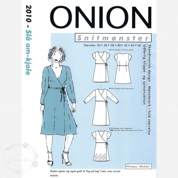 """Snitmønster Onion 2010 """"Slå om kjole"""""""
