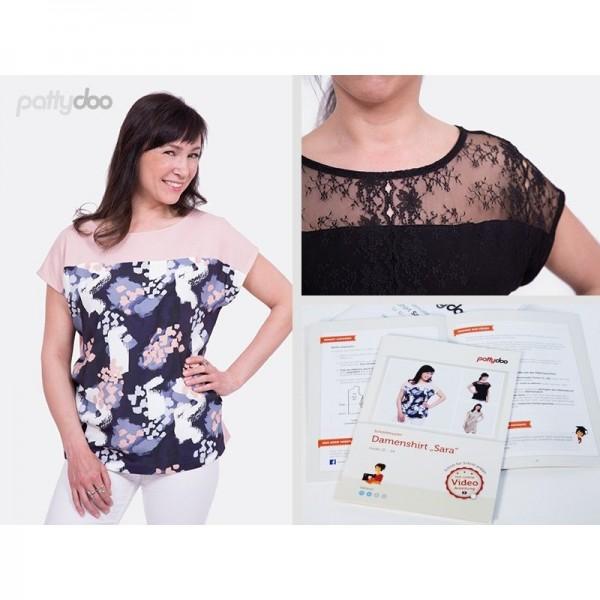 Snitmønster Pattydoo Dame-Shirt og -Kjole...