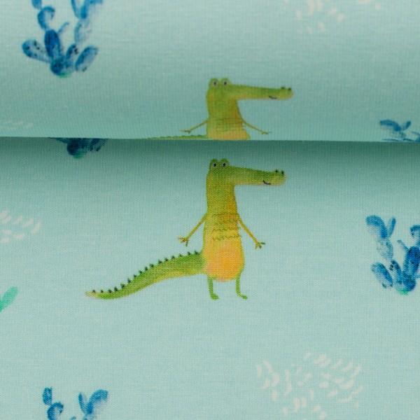 """Bomuldsjersey """"Tommy"""" krokodille"""