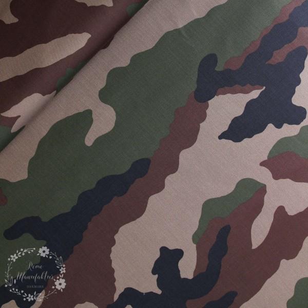 Canvas Camouflage brun