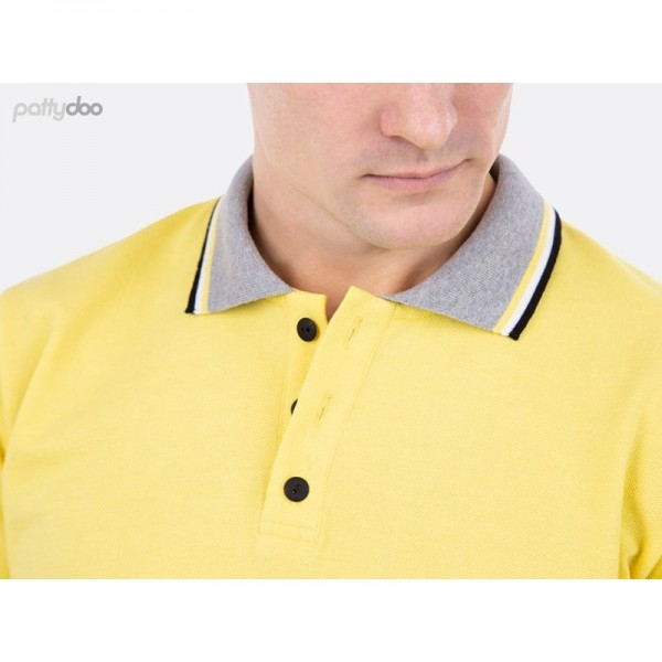 "Snitmønster Herre-Polo-Shirt ""Jake"" str XS - XXXL by pattydoo"
