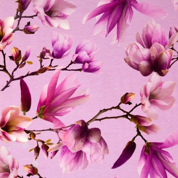 "Bomuldsjersey ""Magnolia"""
