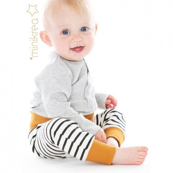 "Snitmønster minikrea 111 ""Baby Bukser"" str 0 - 2 Y (50 - 92 cm)"