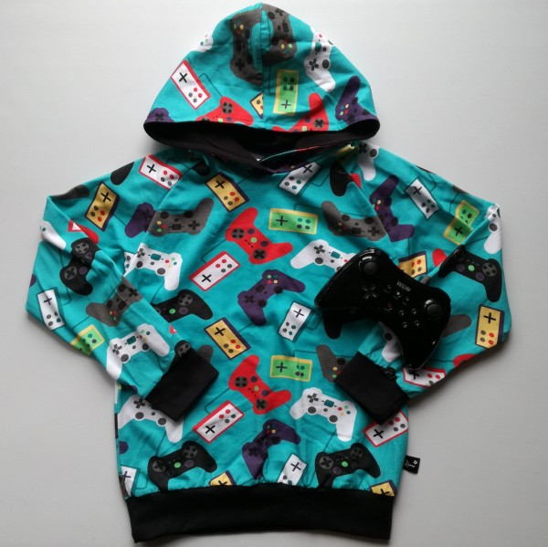 "Kids-Hoddie ""Play"" str 128"