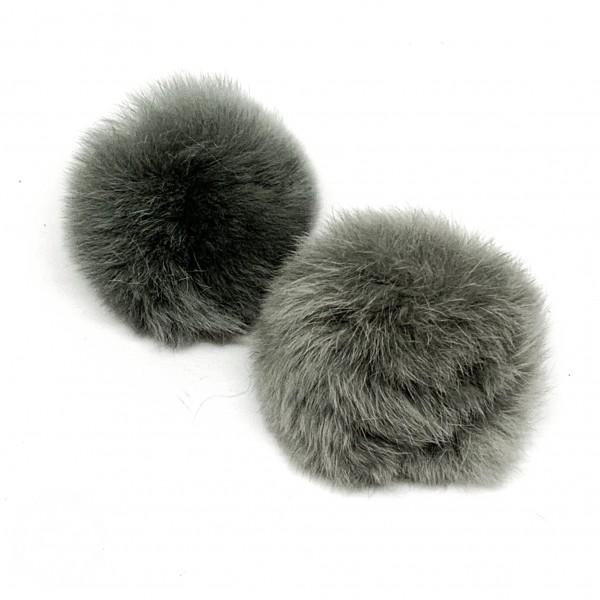 Pom Pom kollektion kaninhår Ø 60 mm