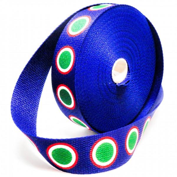Gjordbånd blå med dots