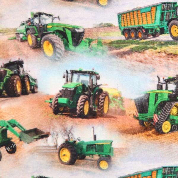 """Bomuldsjersey """"Traktor"""""""