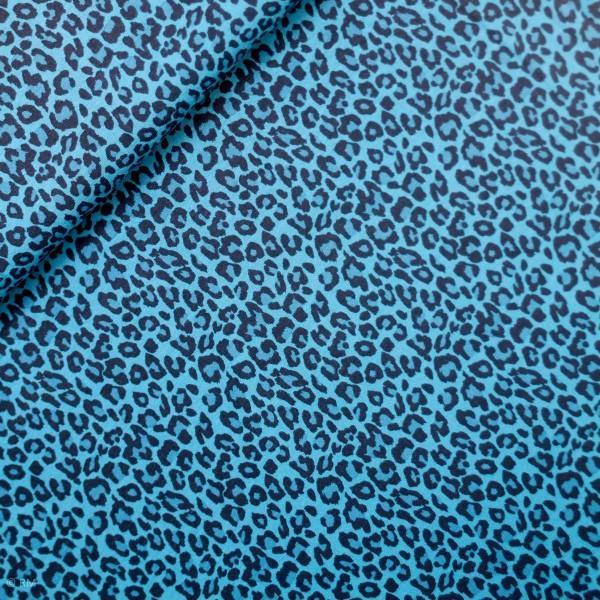 Bomuldsjersey med Dyreprint blå