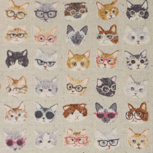"Canvas fra KOKKA ""Tréfle - Animal World Cat"""