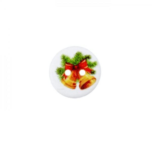 2-hul-Julekanpper kollektion (træ) Ø 15 mm