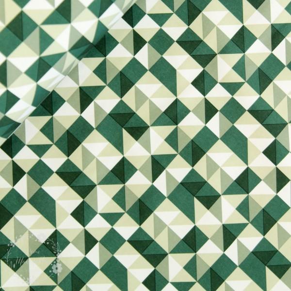 "Softshell ""Grafisk Design grøn"""