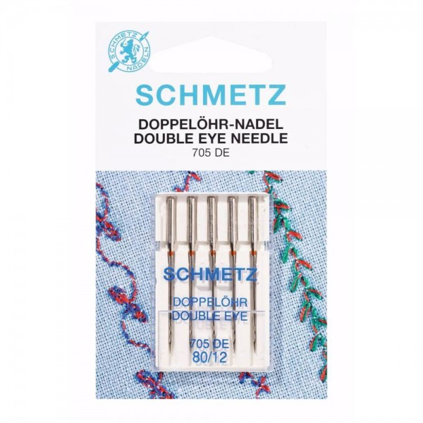 Double Eye-Needle NM 80/12