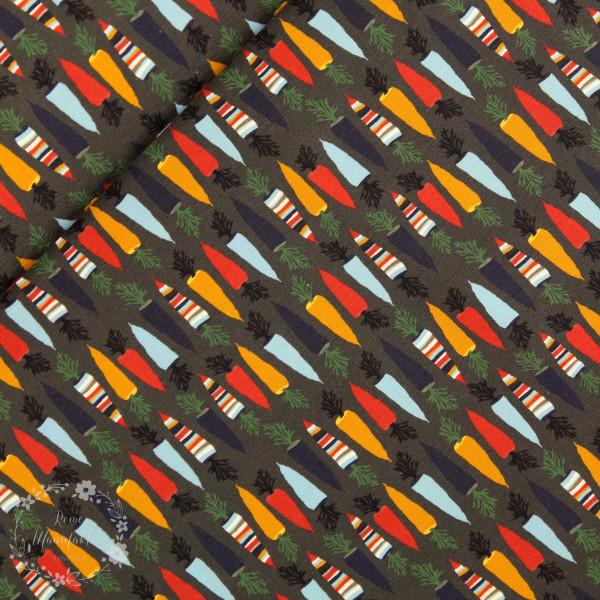 """Bomuldsjersey """"Autumn Carrot"""" by Lila-Lotta,..."""