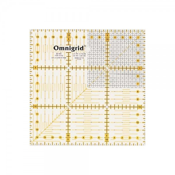 Omnigrid Lineal 15 x 15 cm