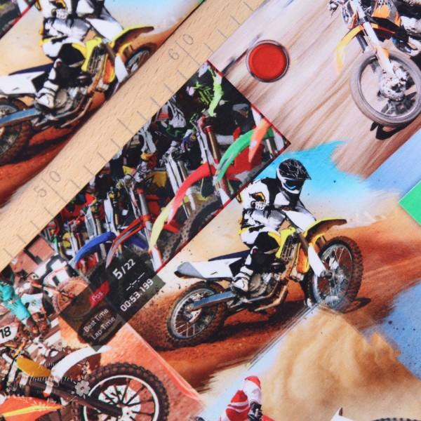 """Bomuldsjersey """"Motorcross"""""""