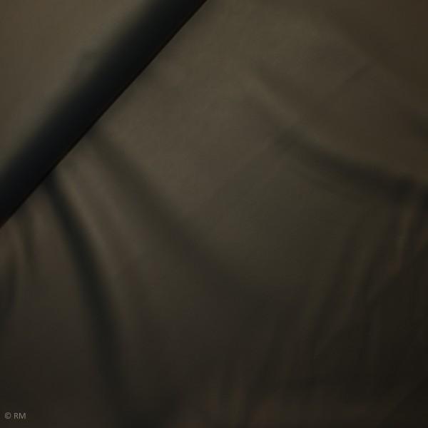 """Beklædningsstof """"Leather"""" mørkeblå"""