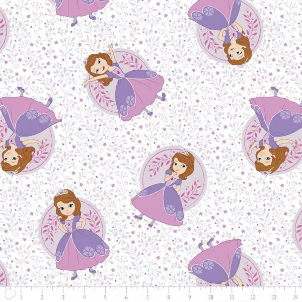 """Disney-Bomuld """"Sofia the First - Meadow"""" fra..."""