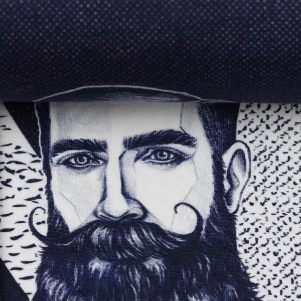 "75cm French Terry-Panel kollektion ""Gentlemen"" by Thorsten Berger"