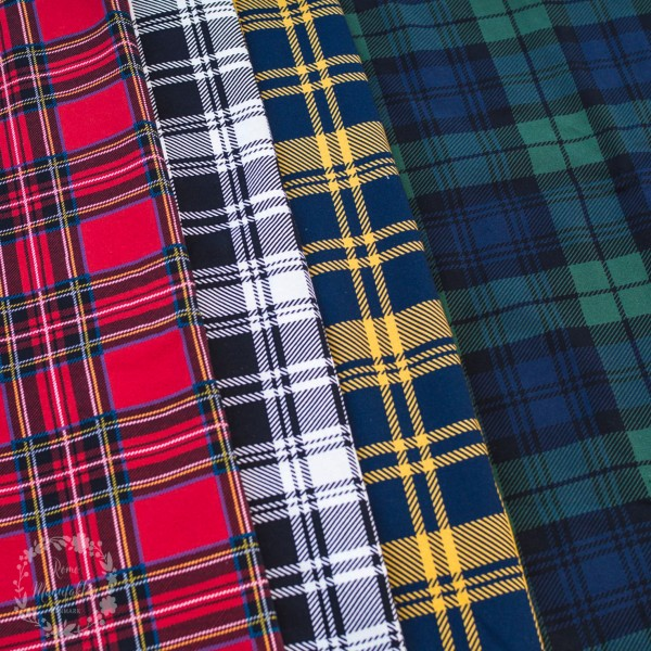 "French Terry kollektion ""Dundee"" plaid"
