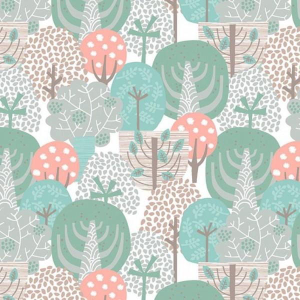 """Bomuld """"Little Forest"""" træer"""