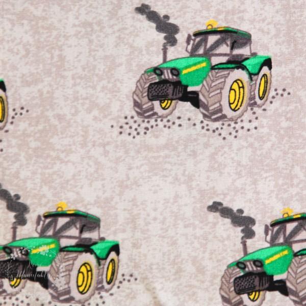 Bomuld med traktor