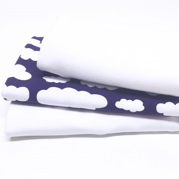 "10% SPAR-PAKKE Jersey ""Clouds"" lilla"